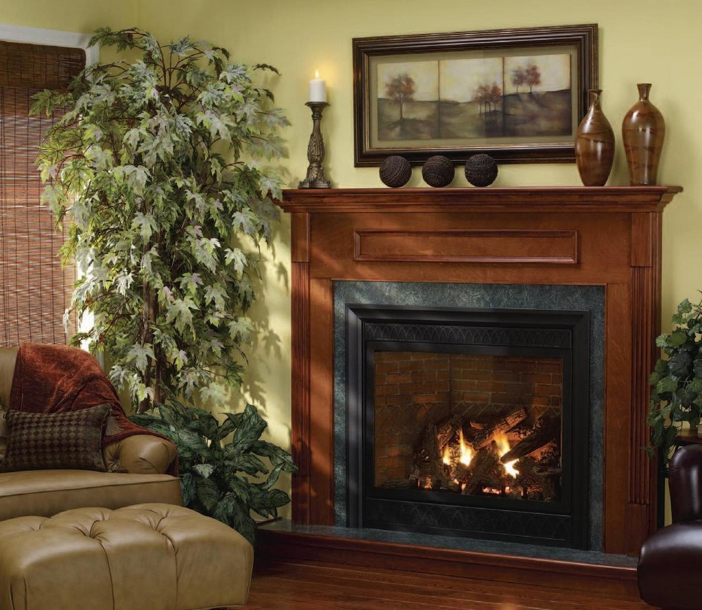 Wood to Gas Fireplace Conversion