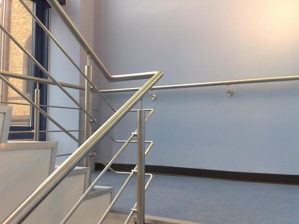aluminum stair handrails