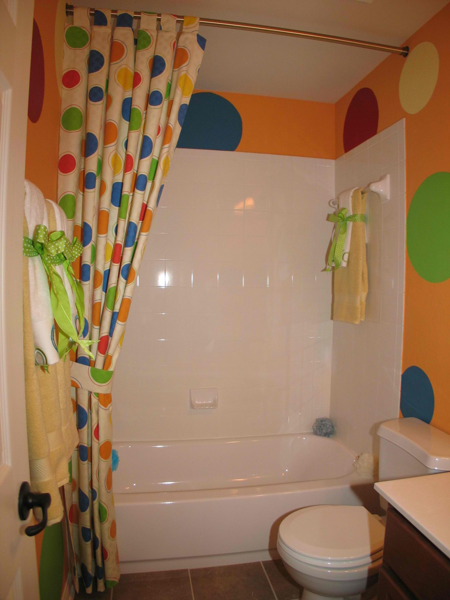 bathroom decor for kids