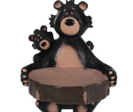 bear bathroom decoration