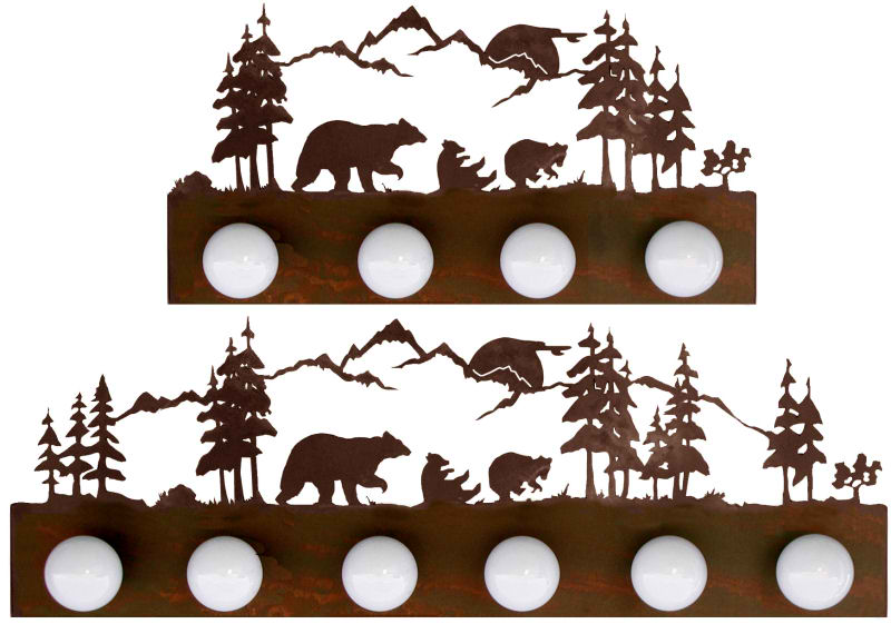 bear design wall strip