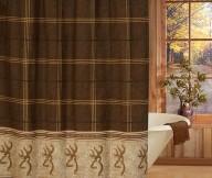 browning buckmark shower curtain