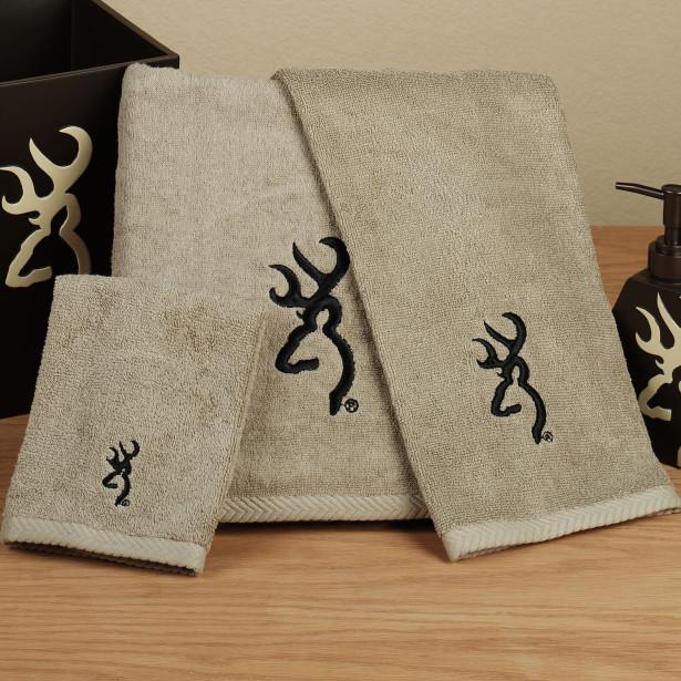 browning buckmark towel gift set