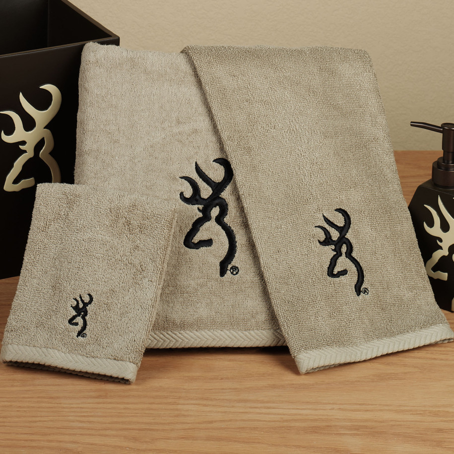 browning buckmark towel gift set
