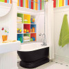 colorful bathroom for kids