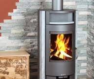 contemporary wood burning stoves