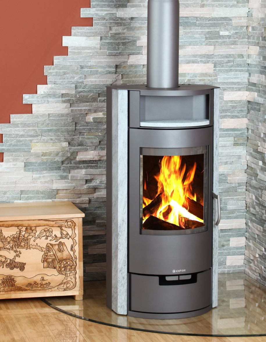 Contemporary wood burning stoves for Modern wood burning insert