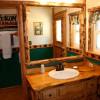 find cabin bathroom decor