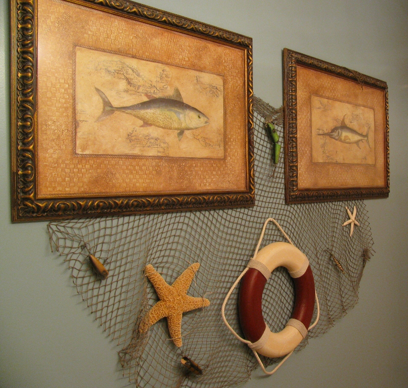fishing bathroom decor