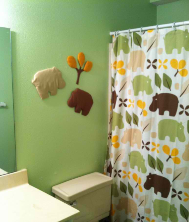 hippo kids bathroom