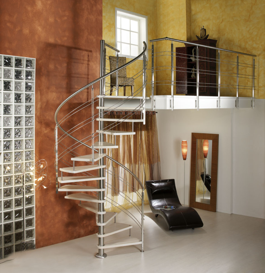 Stair Design Budget And Important Things To Consider: Spiral Staircase Dimensions : KVRiver.com