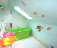kids interior decoration bath