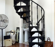 metal diy spiral staircase