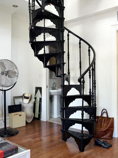 metal diy spiral staircase