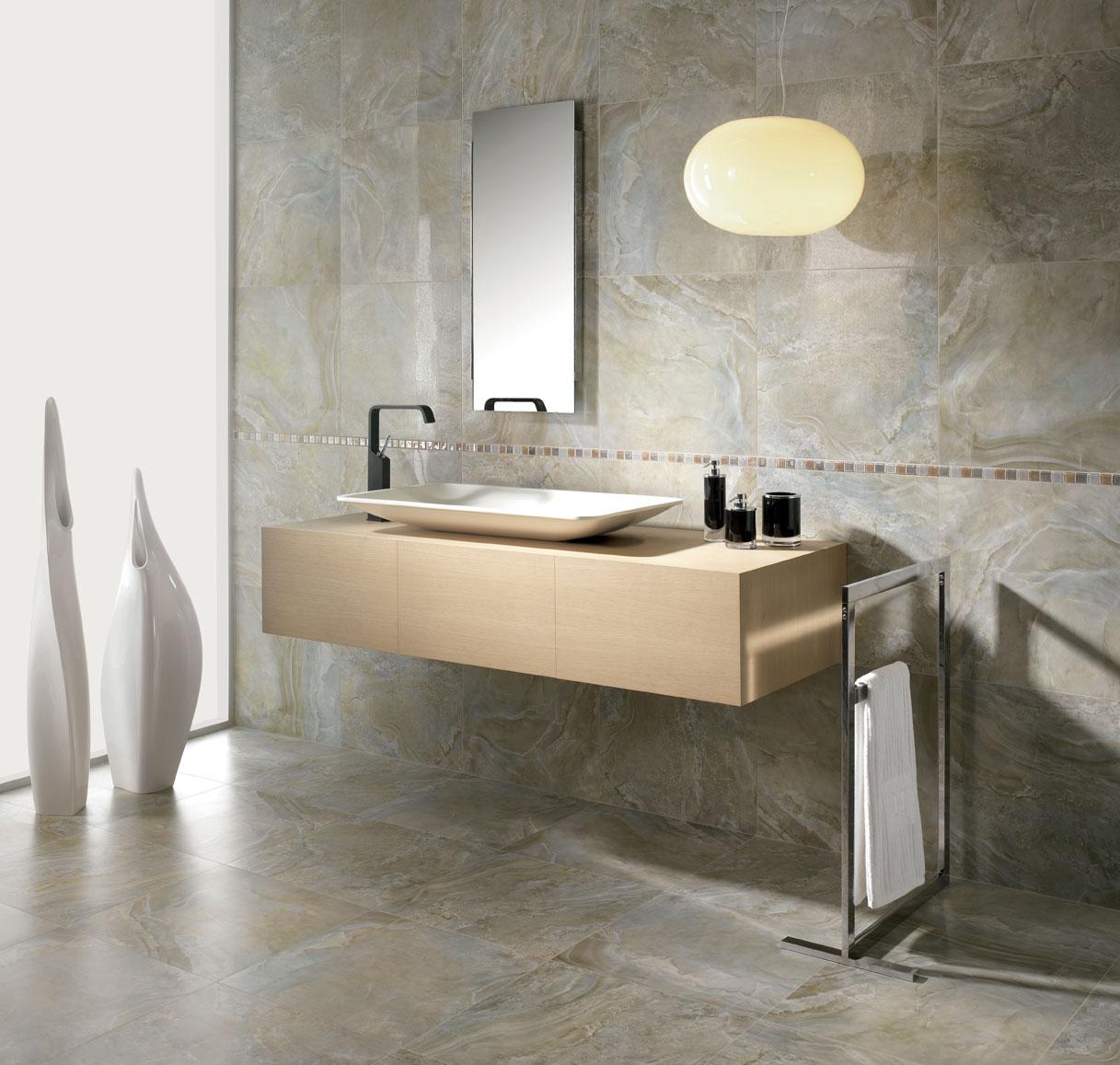modern marble bathroom decor