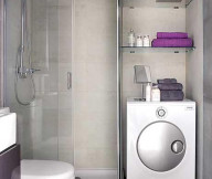 purple bathroom decor