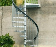 spiral staircase outdoor