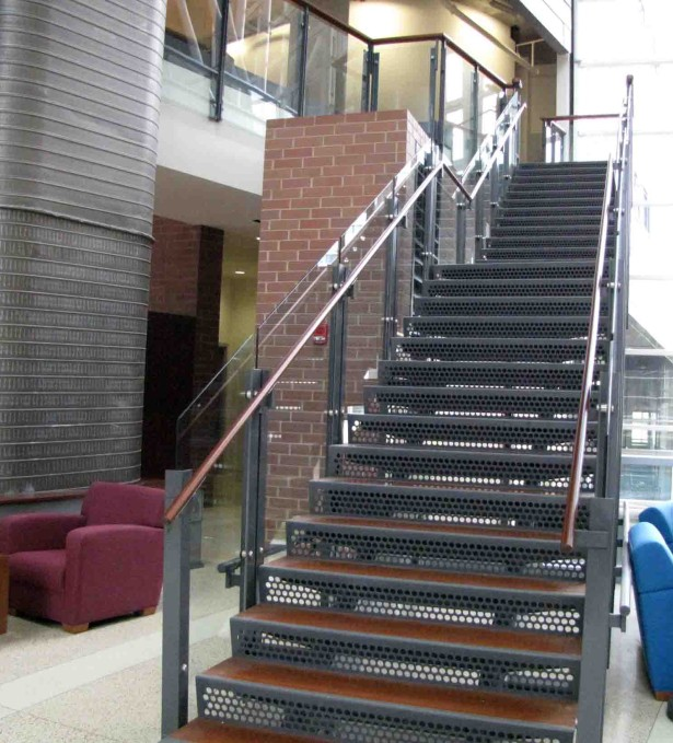 stair bar grating treads steel aluminum