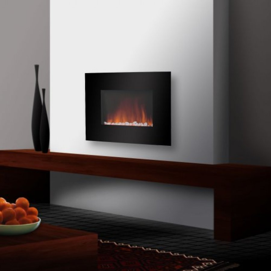 Contemporary Wall Mount Electric Fireplaces