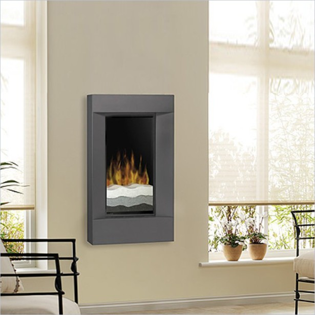 Corner Wall Mount Electric Fireplace