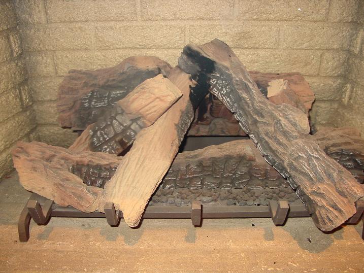 Natural Gas Fireplace Burners
