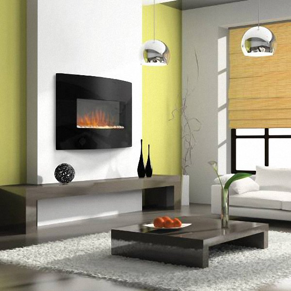 Plasma Wall Mount Electric Fireplace