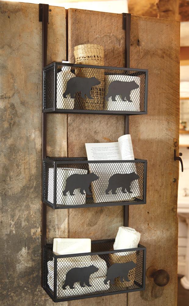 Black Bear Bathroom Decor Ideas For A Home Lodge Kvriver Com