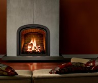 build brick fire place designs