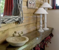 country decor bathroom