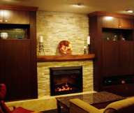 gas fire place designs