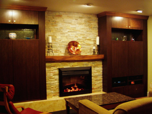 gas fire place designs
