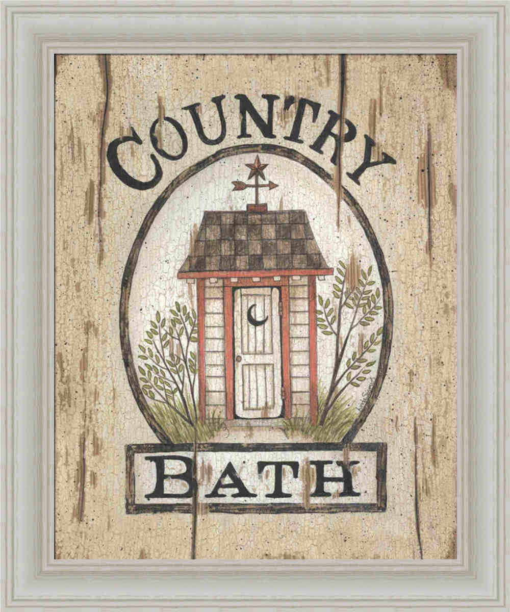 Country Bathroom Decor Tips For Decorating Country Style