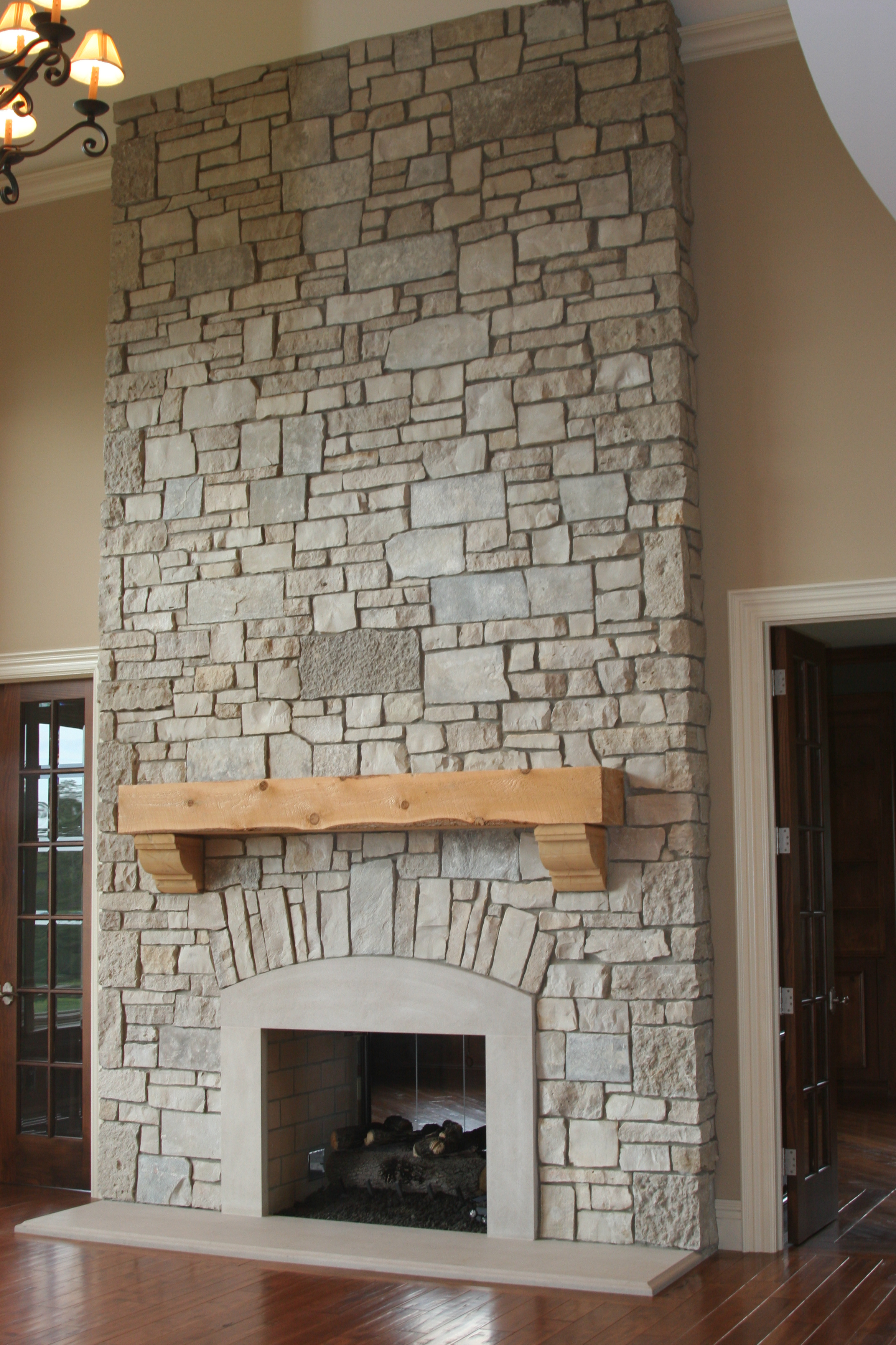 Flagstone Fireplace Designs