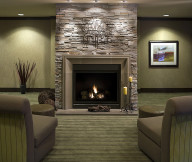 Gas Fireplace Surrounds and Mantels