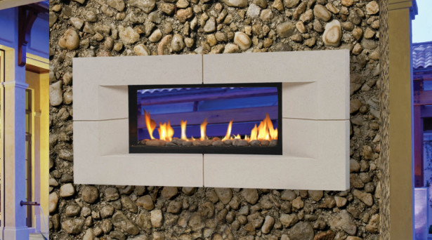 Natural Gas Fireplace Kit