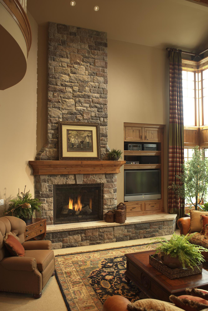 Natural Stone Fireplace Ideas Kvriver Com