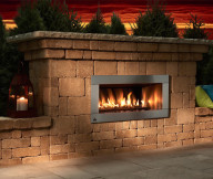 Remote Control Gas Fireplace Kit