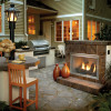 Remote Gas Fireplace Kit