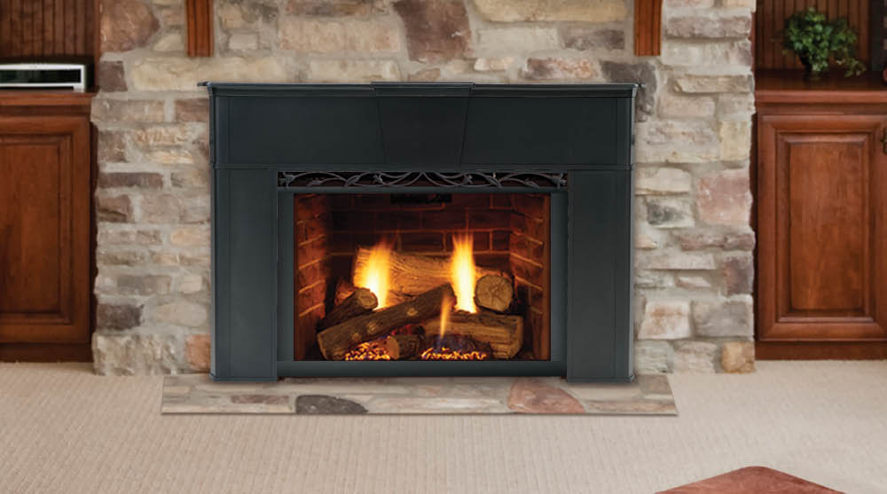 Wood Fireplace Inserts with Blower