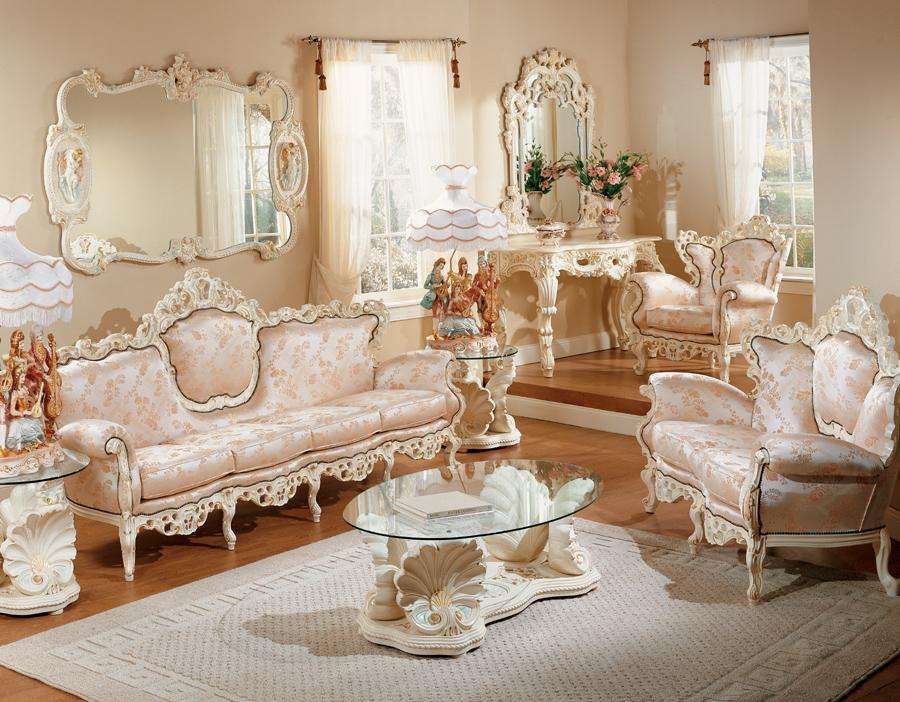 All about french provincial furniture for French style living room furniture