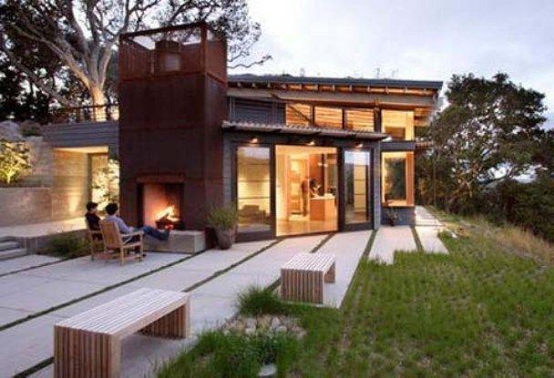 Backyard View Design California