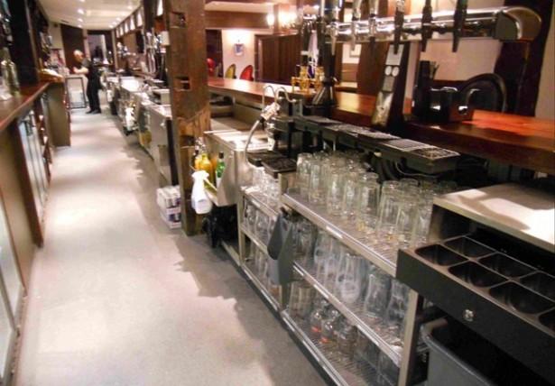 Bar Servery Design Area