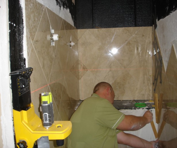 Bathroom Renovation Retro