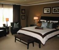 Brown Bedroom Decorating