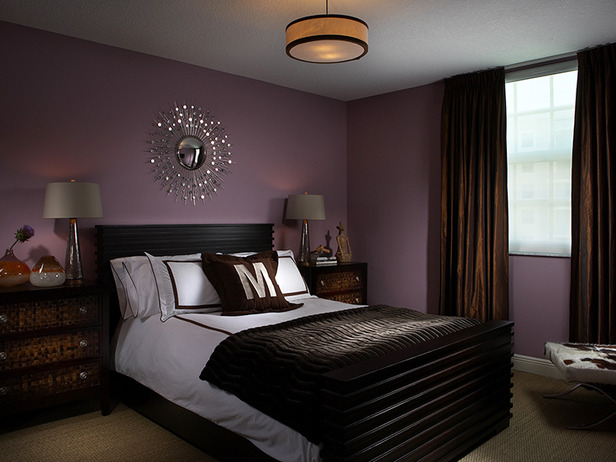 Brown Bedroom Decorating Pubillones Transitional
