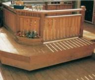 Deck Bench Seat Design