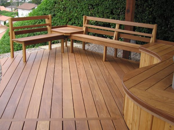 Deck Bench Seat