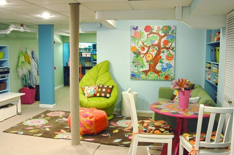 Decorating Kids Playroom Creative