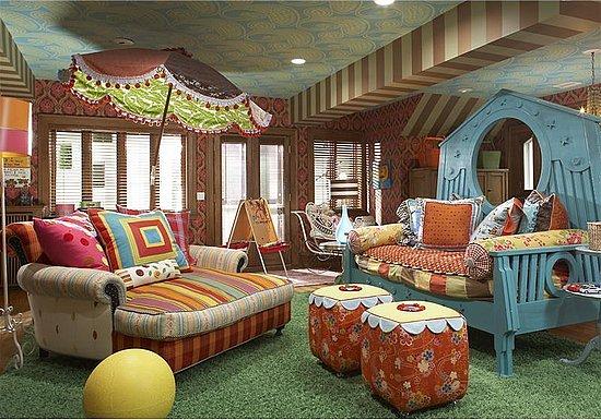 Decorating Kids Playroom Ideas 2012
