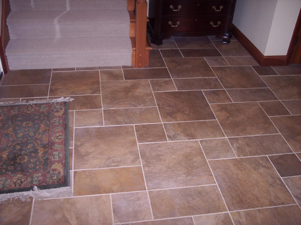 Entryway Tile Design Medium